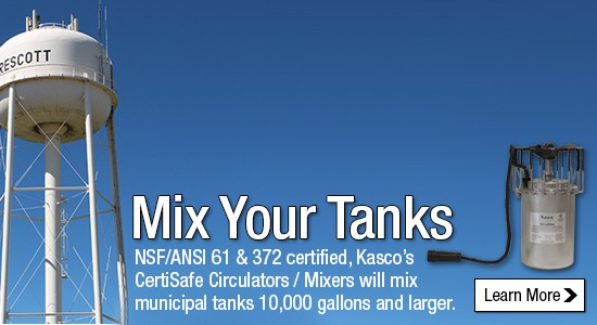 Mix Your Tanks with Kasco CertiSafe Circulators / Mixers