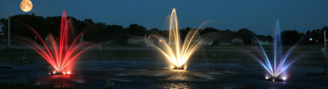 Decorative Fountain - Kasco Marine