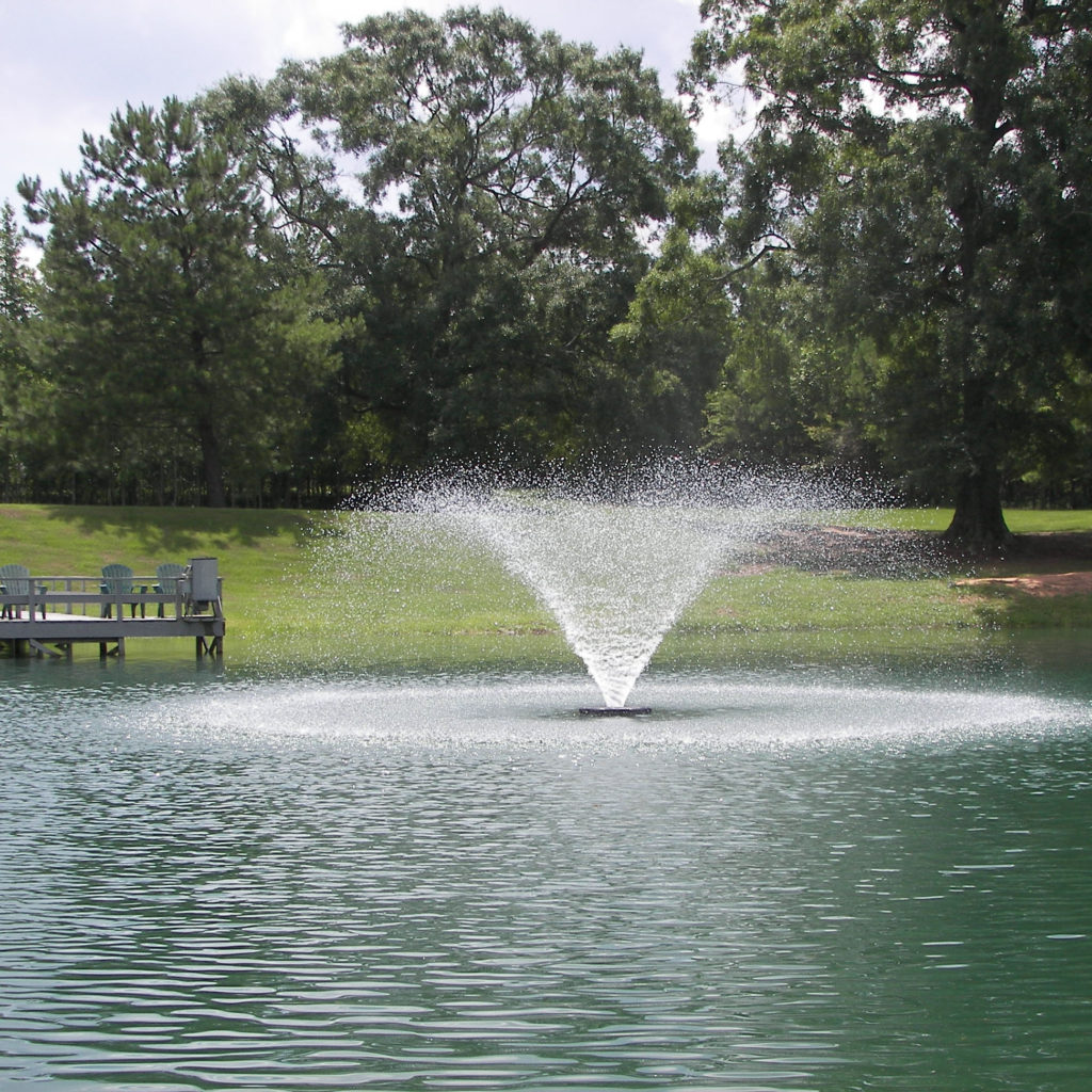 Vfx aerating fountains aerating pond fountain kasco marine for Pond water fountains