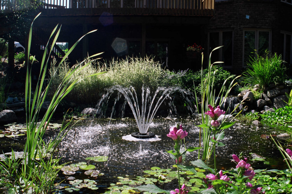 1400jf Series Decorative Fountain For Small Ponds