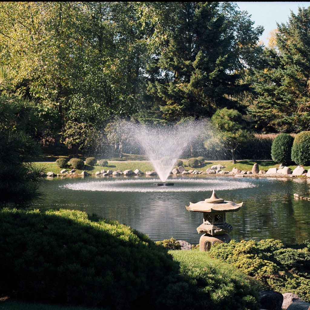 Decorative Fountain For Mid-Large
