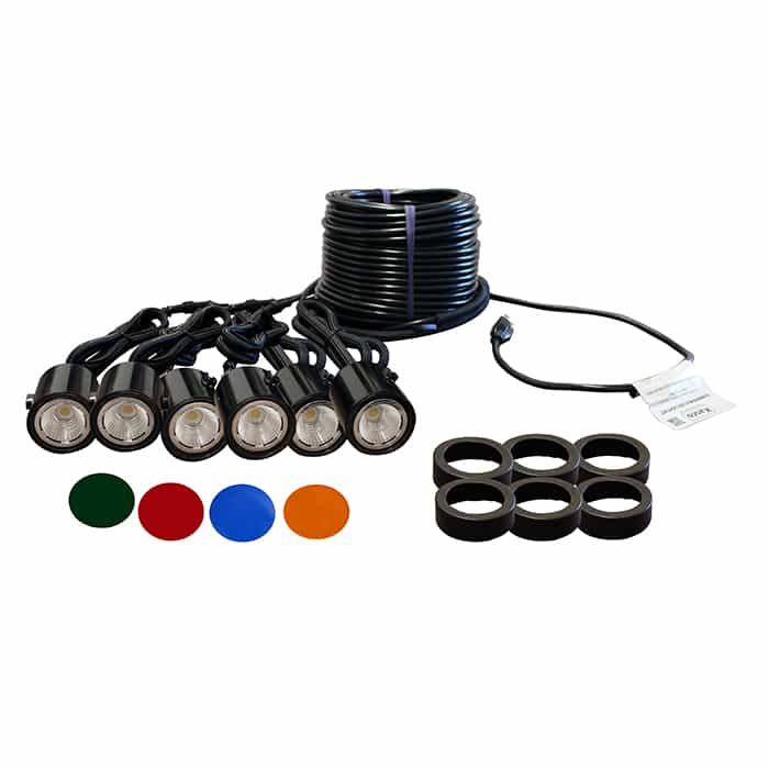 Kasco Marine LED Composite Lights - 6 Fixture Kit