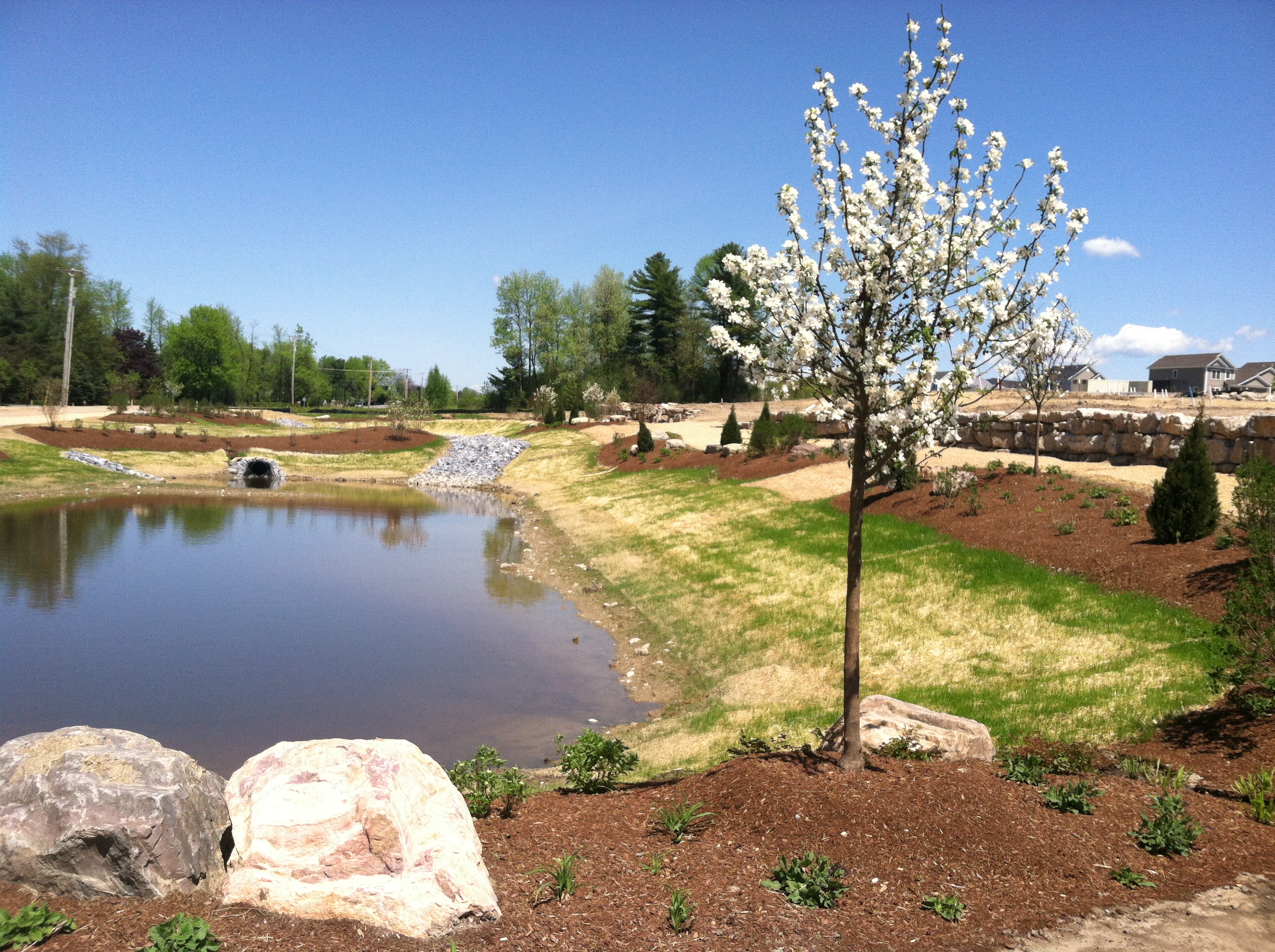 Improve retention pond performance kasco marine for Design of oxidation pond