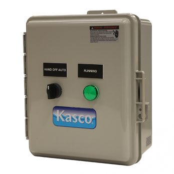 Kasco Marine CertiSafe™ CS-100 and CS-200 Control Panel