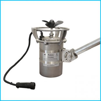 Kasco Marine 2HP CertiSafe Mixer with Pipe Mount