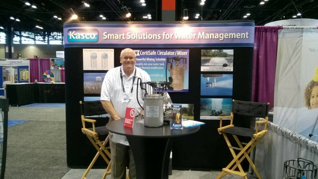 Andy Gillis at the 2016 AWWA ACE