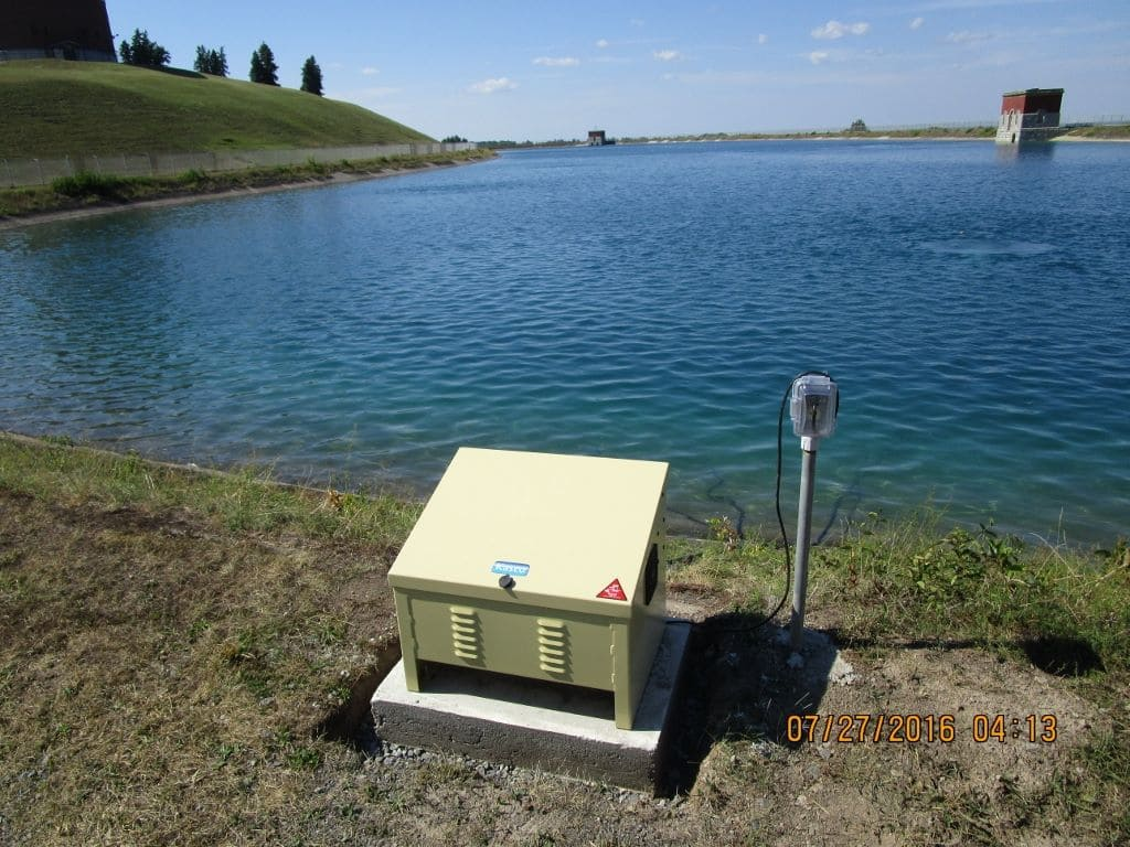 Kasco Marine Robust-Aire Install - Base Mount Cabinet