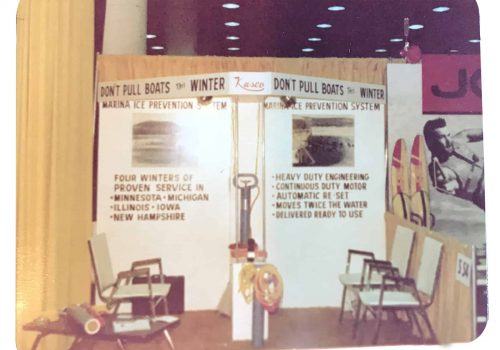 Kasco Old Tradeshow Booth