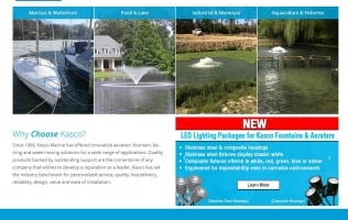 Kasco Unveils New, Fully-Responsive Website