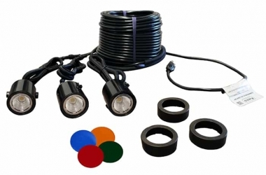 Kasco Marine LED Composite Lights - 3 Fixture Kit