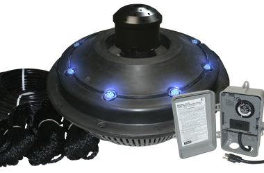 Kasco-Marine-xStream-Fountain-Lit