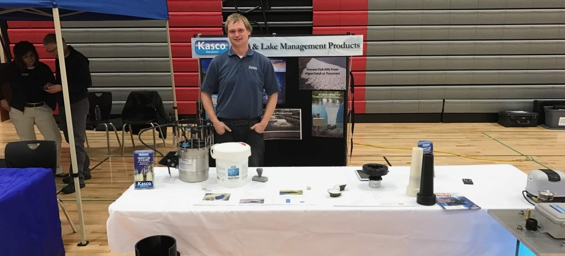 Kasco Participates in Prescott HS Science Night