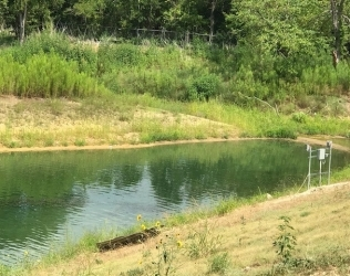 Featured Install: Texas Detention Pond
